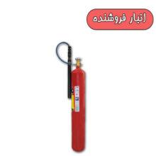کپسول آتش نشانی گاز دی اکسید کربن 6 کیلوئی دژ